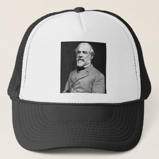 Portrait of Confederate General Robert E. Lee Trucker Hat