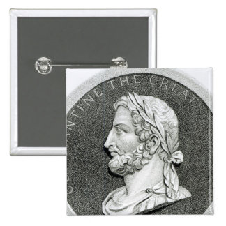 Portrait of Constantine the Great Pinback Button