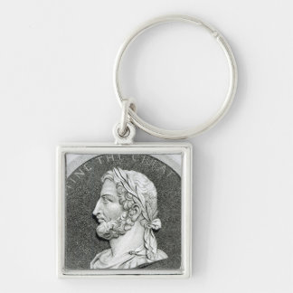 Portrait of Constantine the Great Keychain