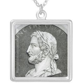 Portrait of Constantine the Great Custom Jewelry