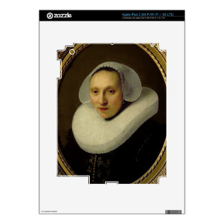Portrait of Cornelia Pronck, Wife of Albert Cuyper Skins For iPad 3