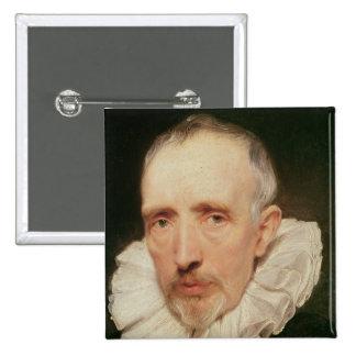 Portrait of Cornelis van der Geest, c.1620 Button