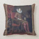Portrait of Cosimo II de'Medici (1590-1621) (oil o Pillow