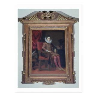 Portrait of Cosimo II de'Medici (1590-1621) (oil o Postcard