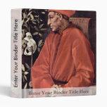 Portrait Of Cosimo Il Vecchio De' Medici, By Ponto Vinyl Binder