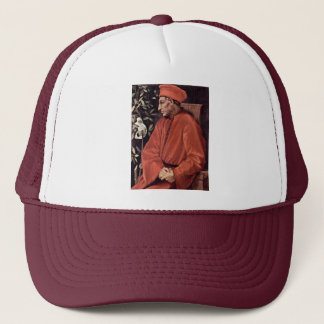 Portrait Of Cosimo Il Vecchio De' Medici, By Ponto Trucker Hat