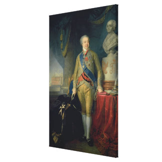Portrait of Count Alexander Kurakin , 1802 Gallery Wrapped Canvas