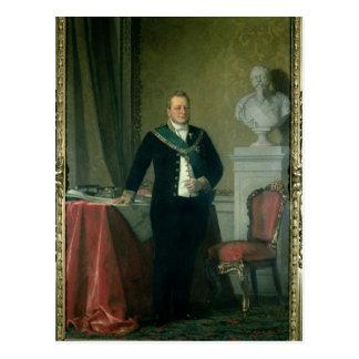 Portrait of Count Camillo Berso of Cavour Postcard