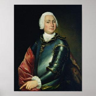 Portrait of Count Ernst Christoph von Manteuffel Poster