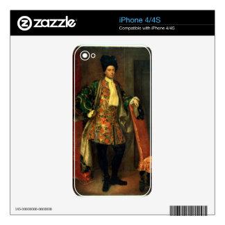 Portrait of Count Giovanni Battista Vailetti Skins For iPhone 4S