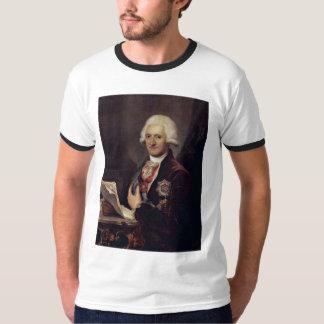 Portrait Of Count Johann Jakob Sievers By Grassi J T-Shirt