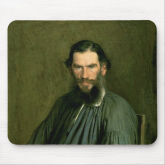 Portrait of Count Lev Nikolaevich Tolstoy  1873 Mouse Pad