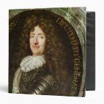 Portrait of Count Roger Bussy de Rabutin 3 Ring Binder