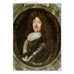 Portrait of Count Roger Bussy de Rabutin Greeting Cards