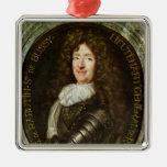 Portrait of Count Roger Bussy de Rabutin Christmas Ornaments