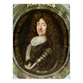 Portrait of Count Roger Bussy de Rabutin Postcard