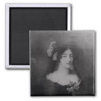 Portrait of Countess Ehrengard Melusina 2 Inch Square Magnet