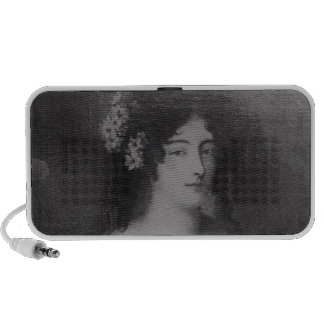 Portrait of Countess Ehrengard Melusina Laptop Speakers