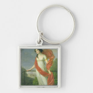 Portrait of Countess Theresia Fries , 1801 Keychain