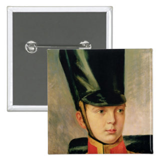 Portrait of Crown Prince Alexander Pinback Button