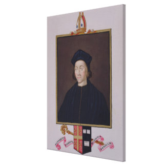 Portrait of Cuthbert Tunstall (1474-1559) Bishop o Canvas Print