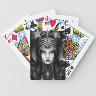 Portrait Of Cyiria Midnight Playing Cards