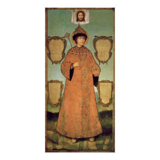 Portrait of Czar Fyodor Alexeevich Poster