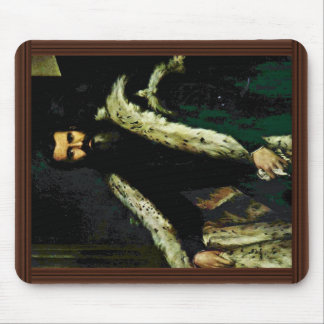 Portrait Of Daniele Barbaro. By Veronese Paolo Mousepad