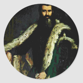 Portrait Of Daniele Barbaro. By Veronese Paolo Stickers