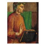 Portrait of Dante Alighieri , c.1475 Postcard
