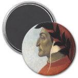 Portrait of Dante Fridge Magnet