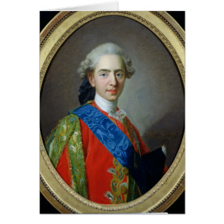 Portrait of Dauphin Louis of France Card