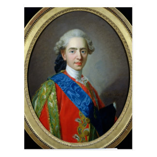 Portrait of Dauphin Louis of France Postcard