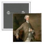 Portrait of David Garrick (1717-79), 1742 (oil on Pins