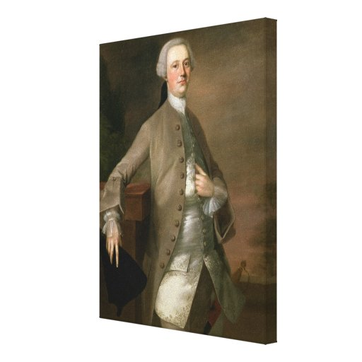 Portrait of David Garrick (1717-79), 1742 (oil on Gallery Wrapped Canvas