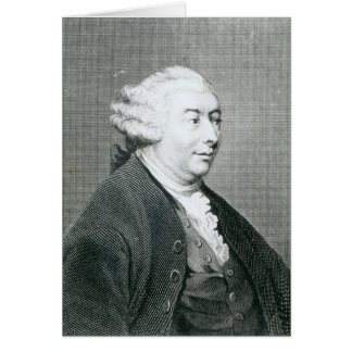 Portrait of David Hume Card