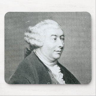 Portrait of David Hume Mouse Pad