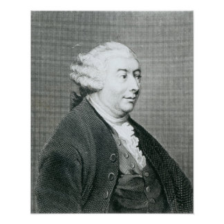 Portrait of David Hume Poster