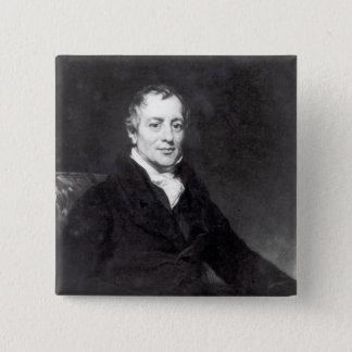 Portrait of David Ricardo Button
