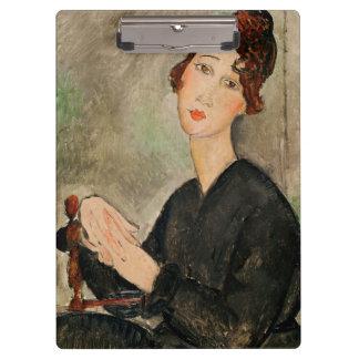 Portrait of Dedie Hayden, 1918 Clipboard