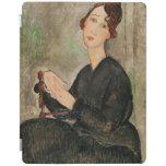 Portrait of Dedie Hayden, 1918 iPad Cover