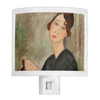 Portrait of Dedie Hayden, 1918 Night Light