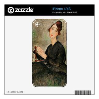 Portrait of Dedie Hayden, 1918 Decal For The iPhone 4S