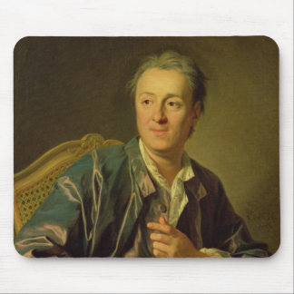 Portrait of Denis Diderot  1767 Mouse Pad