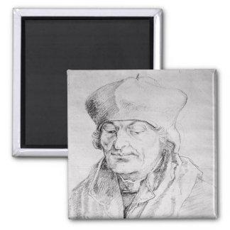 Portrait of Desiderius Erasmus  1520 Magnet