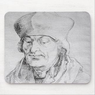 Portrait of Desiderius Erasmus  1520 Mouse Pad