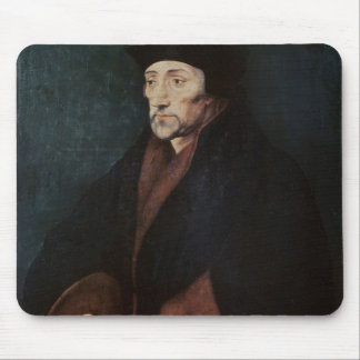 Portrait of Desiderius Erasmus  of Rotterdam Mouse Pad