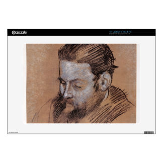 """Portrait of Diego Martelli, 1879 (chalk on paper) Decal For 15"""" Laptop"""