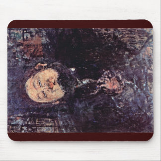 Portrait Of Diego Rivera By Modigliani Amedeo Mouse Pad