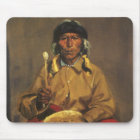 Portrait of Dieguito Roybal by Robert Henri Mouse Pad